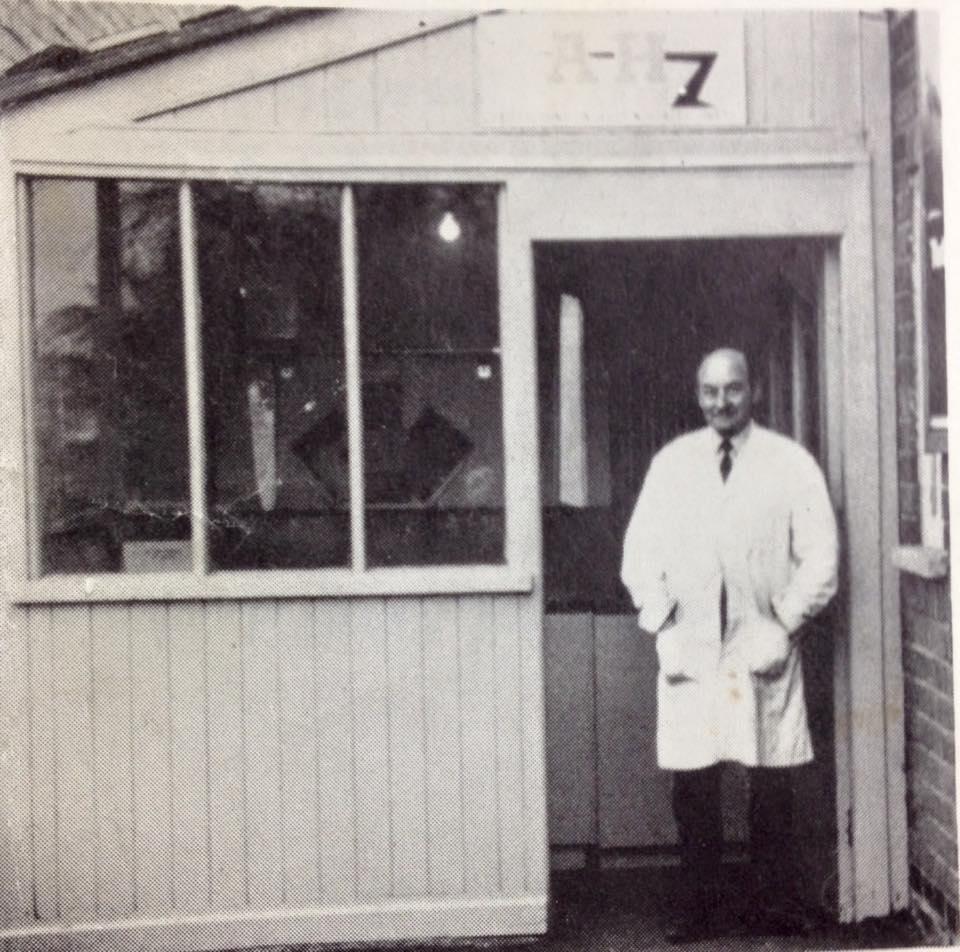 Name:  AH Spares #11 Fred Draper at the door 1973 Clas Arleskar archives .jpg Views: 105 Size:  118.2 KB