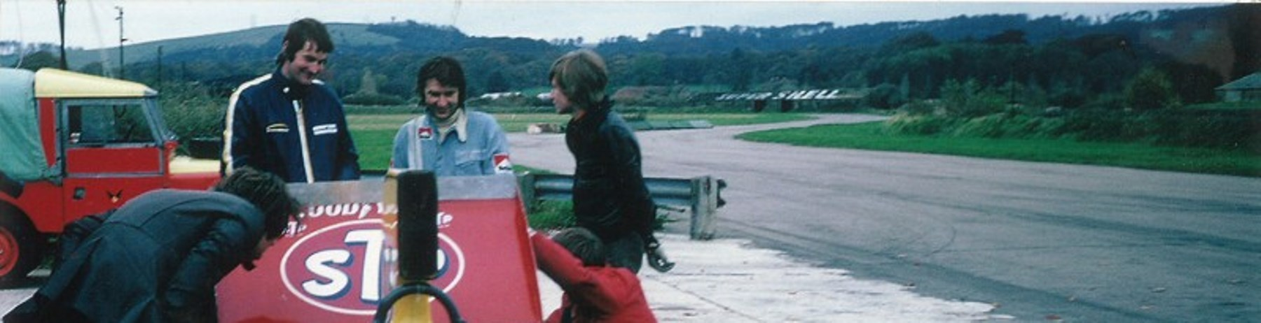 Name:  Goodwood. Oct. 1973.Looking North toward the South Downs..jpg Views: 716 Size:  132.0 KB