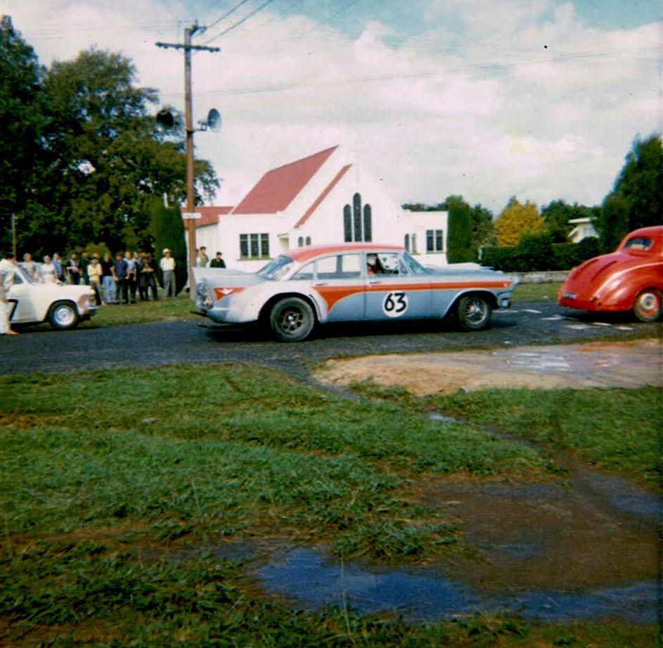 Name:  Matamata 1965 #31 1965 grid De Soto Colin Lumsden Plymouth Coupe Graeme Park Anglia Q - Glen Kir.jpg Views: 401 Size:  140.9 KB