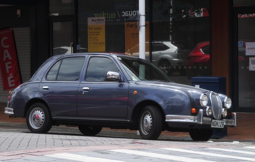 Name:  Viewt #21 Jaguar styled Mitsuoka Viewt version of Nissan March - Micra Nigel Watts .jpg Views: 186 Size:  164.3 KB