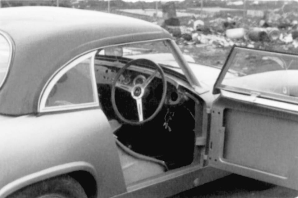 Name:  AH Sprite #59 part way through construction Healey works alloy bodied Sebring car Feb 1962 J W-B.jpg Views: 59 Size:  54.5 KB