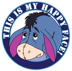 Name:  Winnie the Pooh #18 Eeyore - Happy face  .jpg