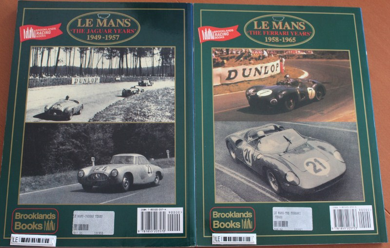 Name:  Motoring Books #176 Brooklands Le Mans 49-57, 58-65 back 2019_03_29_0711 (3) (800x509).jpg Views: 385 Size:  146.5 KB