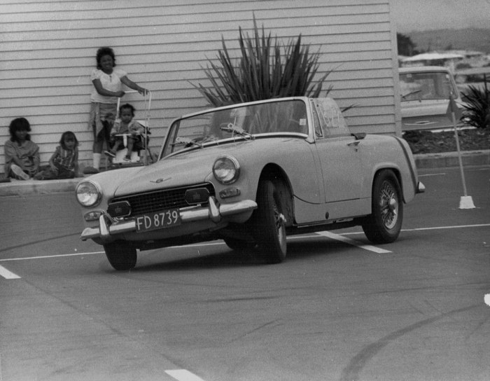 Name:  My Cars #70 1965 Austin Healey Sprite 1098cc Gymkhana Mangere Town Centre 1974 v3, CCI28122015_0.jpg