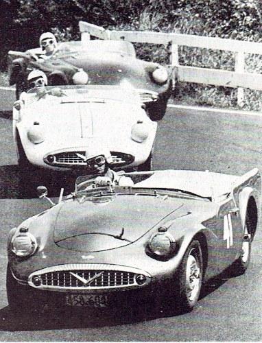Name:  Motor racing Pukekohe 1964 Trevor Sheffield Daimler SP250 # 3. 25CCI21072015 (3) (382x500).jpg Views: 157 Size:  114.6 KB