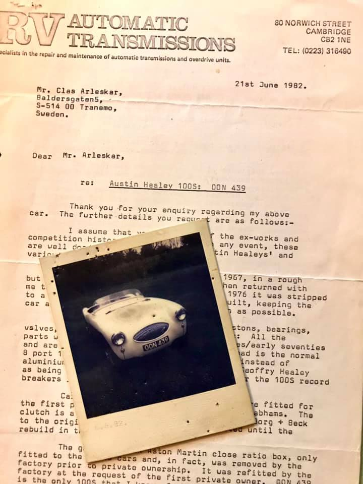 Name:  AH 100S #144 OON439 Letter photo for sale 1982 Clas Arleskar.jpg Views: 148 Size:  71.4 KB