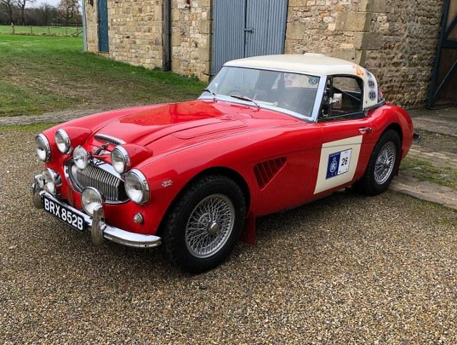 Name:  AH 3000 #466 BRX852B 1964 Works Team rally fr 3-4 lhs WCE Paul Woolmer  (640x483) (2).jpg Views: 87 Size:  162.5 KB
