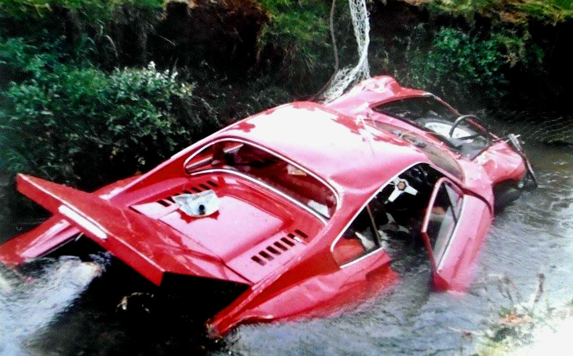 Name:  Ferrari Dino in Ditch.jpg