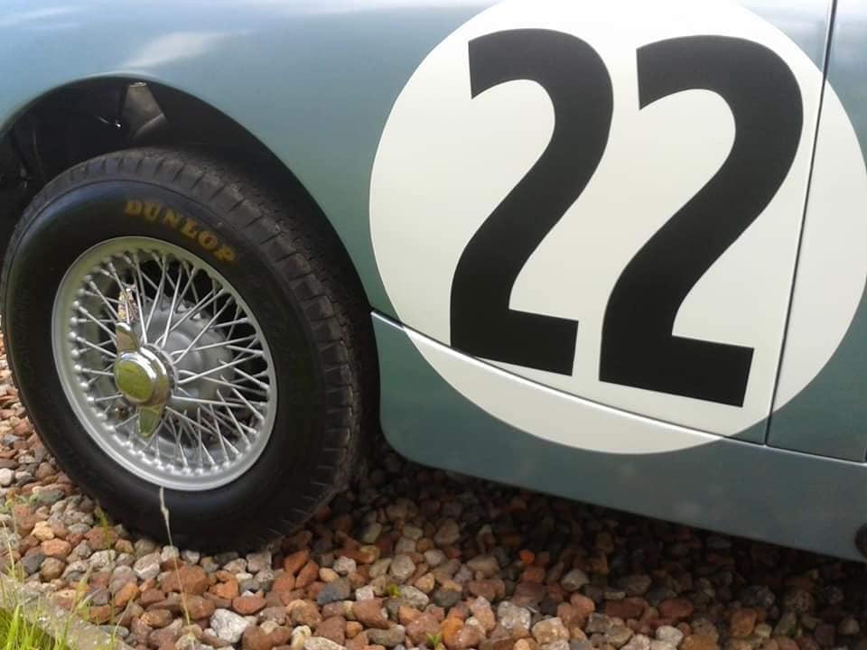 Name:  AH Sprite #55 Surviving 1962 Sebring Sprite Wheel and Race #22 J W-Bird .jpg Views: 101 Size:  53.2 KB