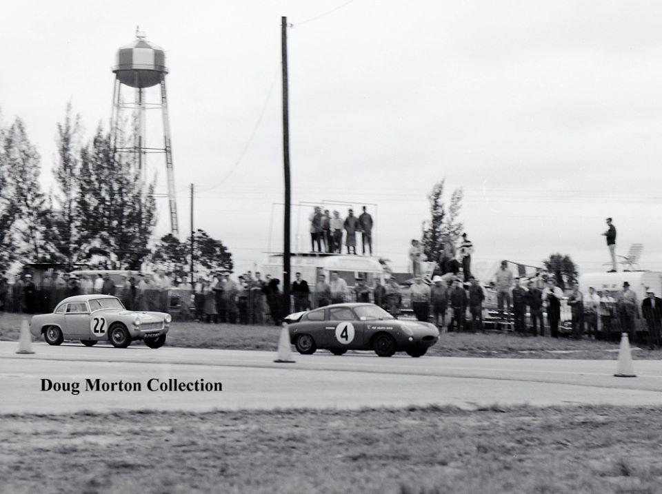 Name:  AH Sprite #72 Sebring 1962 3 shots of the #22 chasing the #4 Abarth Webster turn 2 Doug Morton.jpg Views: 84 Size:  82.7 KB
