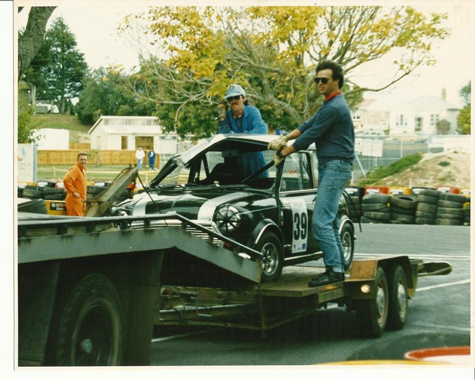 Name:  Telecom Motorfest 1994 #172 Gerald Fogg Mini #39 after accident G Fogg .jpg Views: 491 Size:  165.5 KB