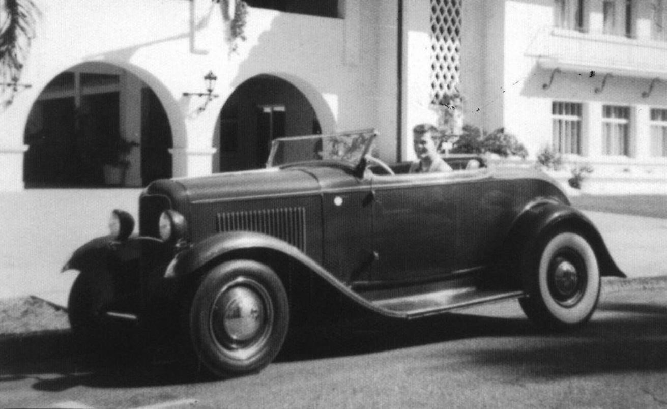 Name:  Willard Partch. 1932 Ford roadster..jpg