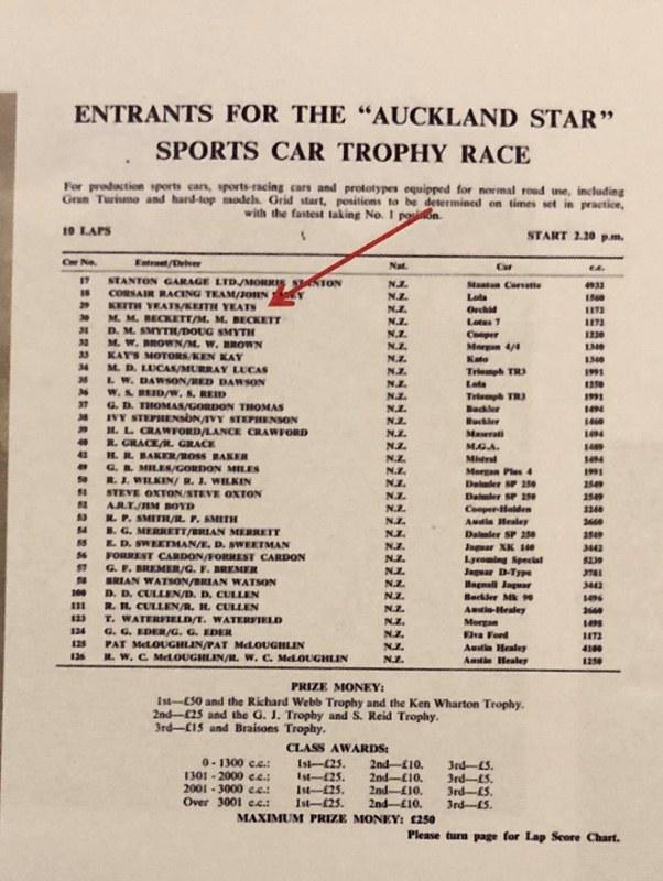 Name:  NSCC 1966 #121 Orchid Special Events Pukekohe Entry Lists 1 - 4 = 1 Richard Sandman (602x800).jpg Views: 242 Size:  135.0 KB