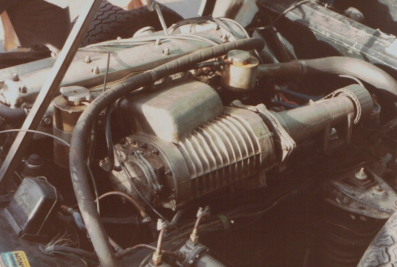 Name:  Dunedin Festival 1984 #58 Jag with Supercharger - the Special !! CCI24112015_0003 (800x539).jpg Views: 1085 Size:  127.7 KB