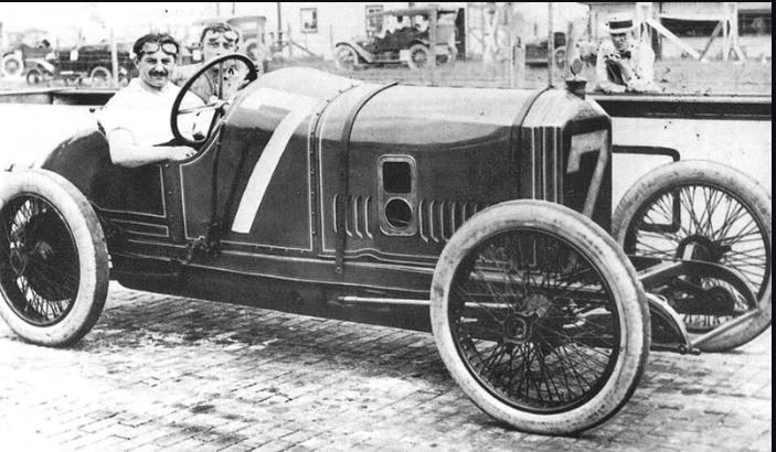 Name:  1914 indy 500 - georges boillot (peugeot ex3 4-cyl 5,7-litre) dnf 148 broken frame.JPG