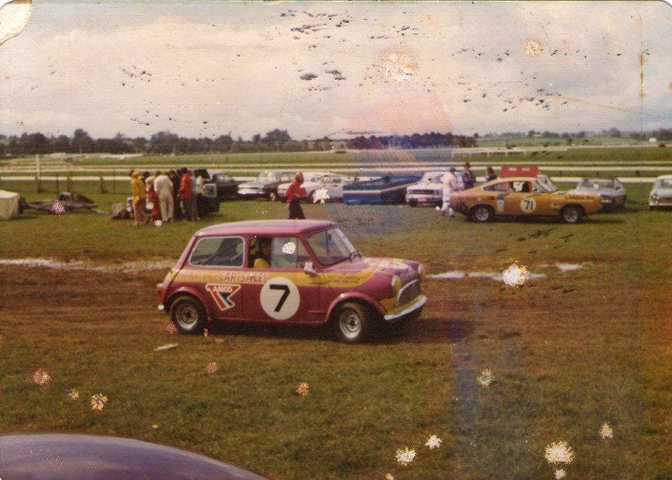 Name:  Pukekohe 1973 #51 Mini 7 Derek Haynes 1976 Martin Haynes .jpg Views: 166 Size:  105.3 KB