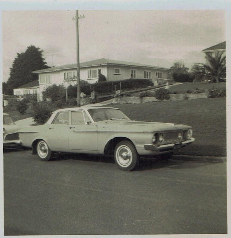 Name:  Cars by Roger Dowding #5 1960's Dodge Seabrrok Ave New Lynn 1965 CCI04022016_0006 (776x800).jpg Views: 126 Size:  128.3 KB