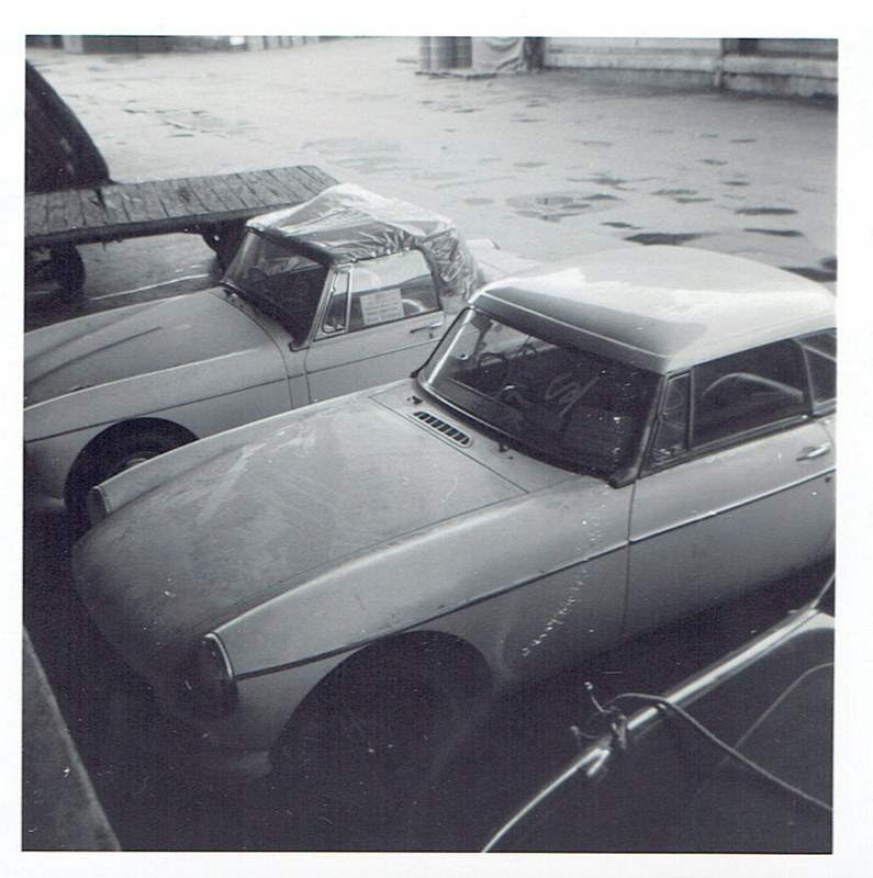 Name:  Cars by Roger Dowding #8 New MG's Princes Wharf 1965 CCI04022016 (795x800).jpg Views: 123 Size:  147.9 KB