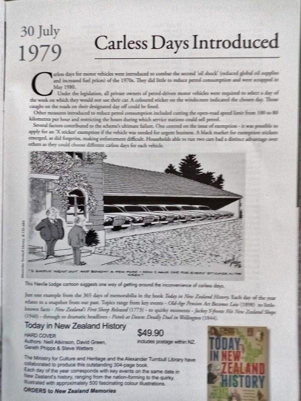 Name:  NZ Number Plates #122 Carless Days 1979 article NZ Memories 2020 IMG_20210713_104305 (600x800) (.jpg Views: 29 Size:  153.6 KB