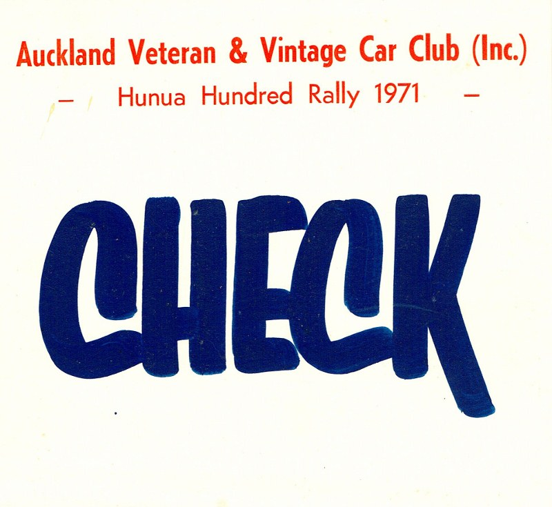 Name:  Hunua Hundred 1971 Auckland VVCC sign CCI27092015 (800x735).jpg Views: 2165 Size:  114.8 KB