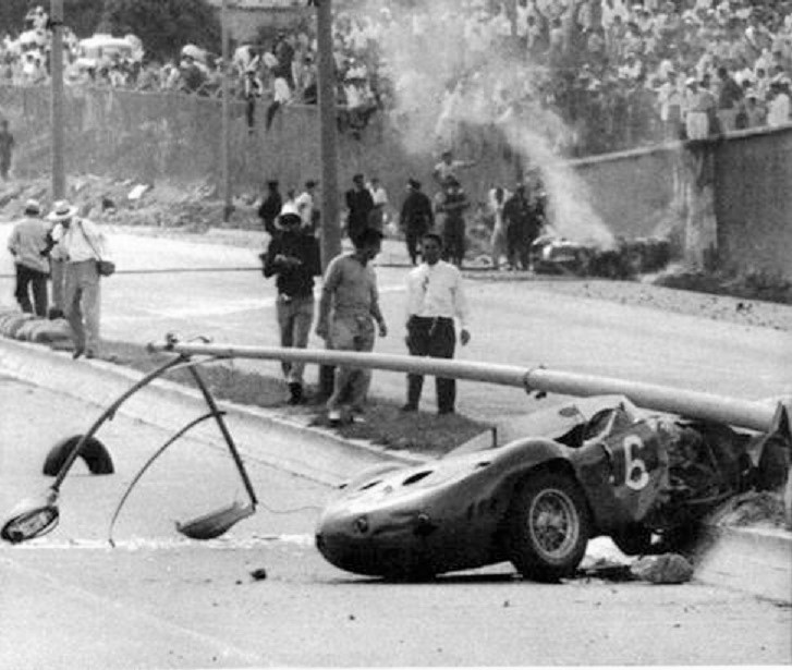 Name:  Maserati disaster at Venezuela. 1957.jpg
