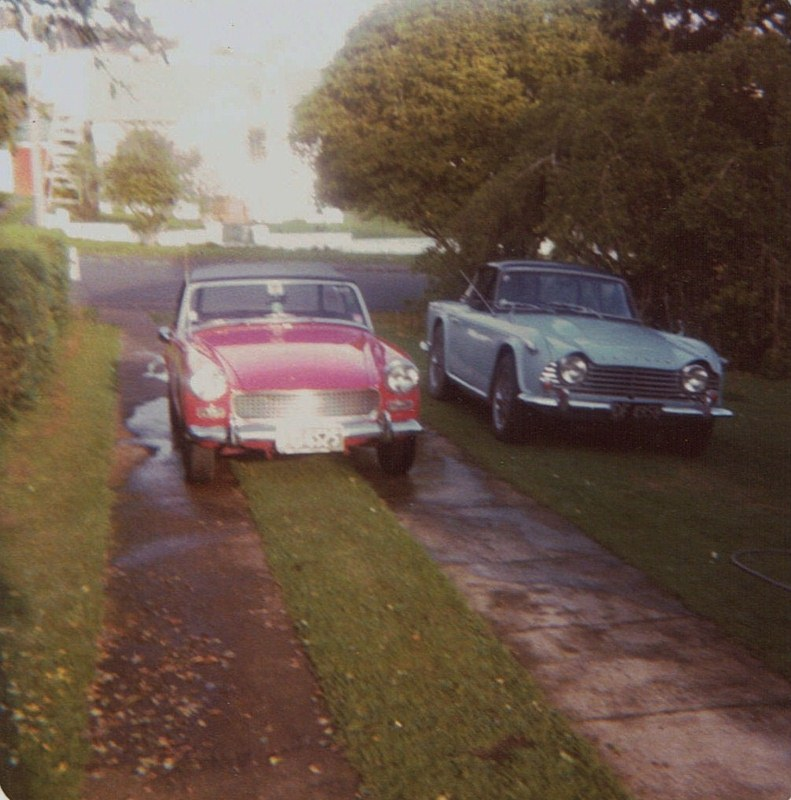 Name:  Cars by Roger Dowding #39 1965 A-H Sprite & 1967 TR4A 1980 Mt Albert CCI09022016_0004 (791x800).jpg Views: 78 Size:  148.4 KB