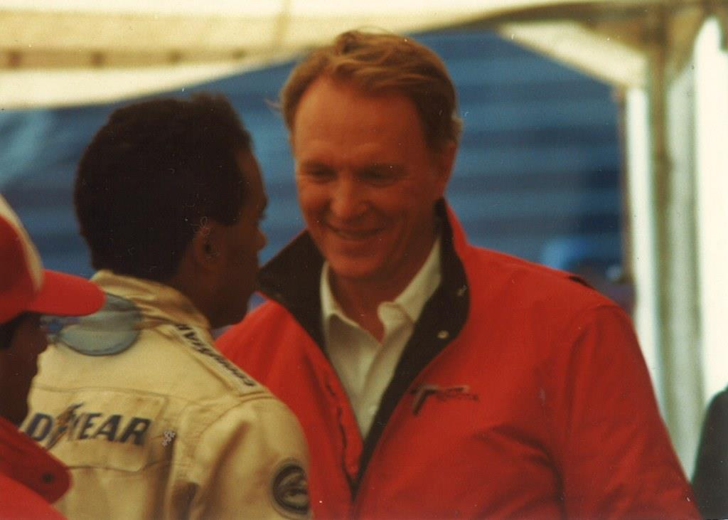 Name:  Willy T Ribbs with Dan Gurney. 1987.jpg