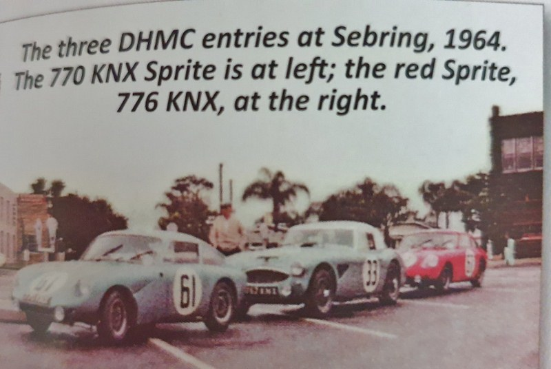 Name:  Sebring 1964 #33 DHMC entries 3000 and Sprites Ivo Visser 95 kb AH Historic Pictures  (800x536) .jpg