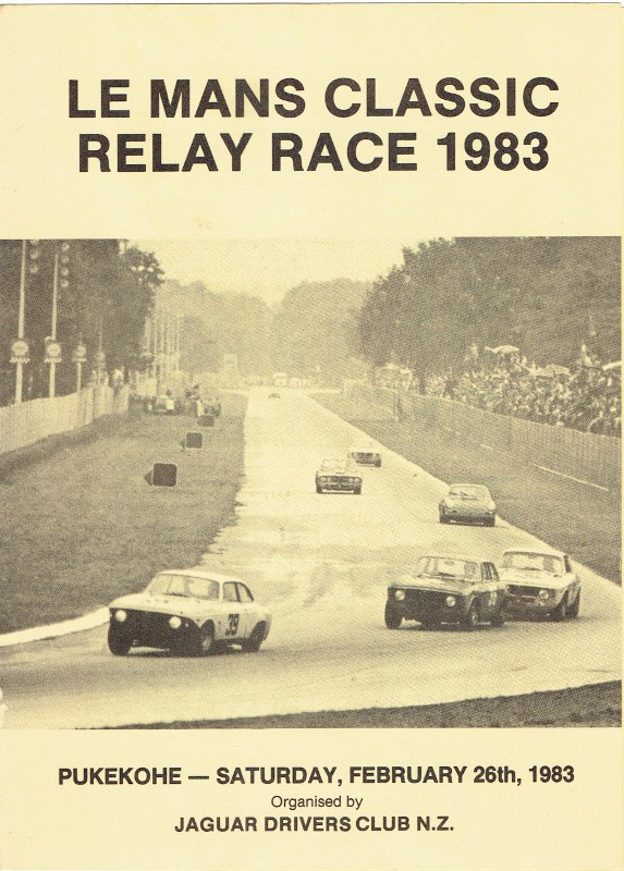 Name:  Pukekohe ; Le mans Classic Relay Race Feb 1983 p 1. # 2 CCI16082015 (2) (573x800).jpg Views: 3125 Size:  155.2 KB