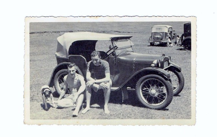 Name:  Austin 7 Tourer - modified by Ed and Mac Dowding pre-war 1938 resize #2 !!CCI08072015 (902x1280).jpg Views: 1447 Size:  99.9 KB
