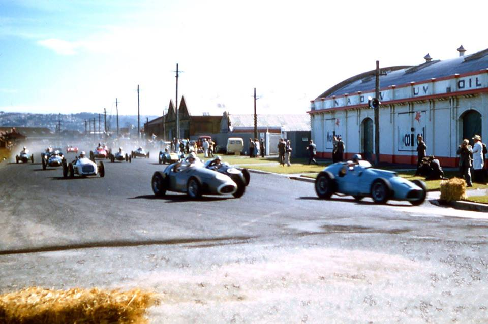 Name:  Dunedin NZCRR 1954 programme #19 The Race early lap Digby Paape .jpg