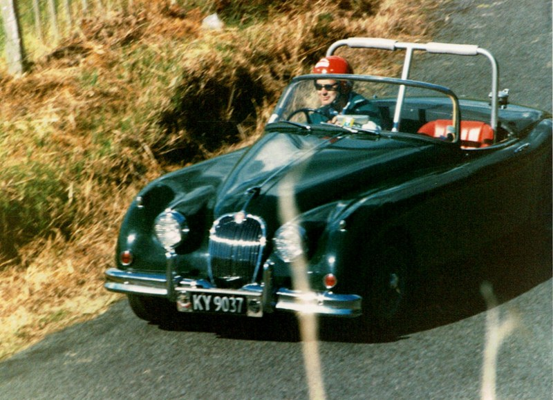 Name:  AHCCNZ Otaua Hill Climb 1986 # 13 Jaguar XK140 CCI25112015_0001 (800x579).jpg