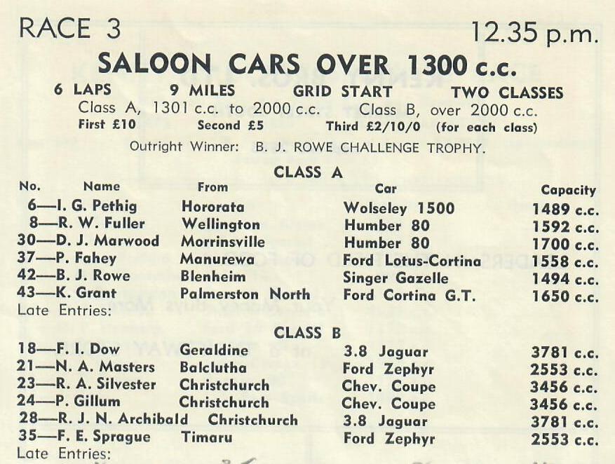 Name:  Motor Racing Renwick #23 1963 Race 3 Allcomer saloon first race Graham Woods.jpg Views: 179 Size:  90.7 KB