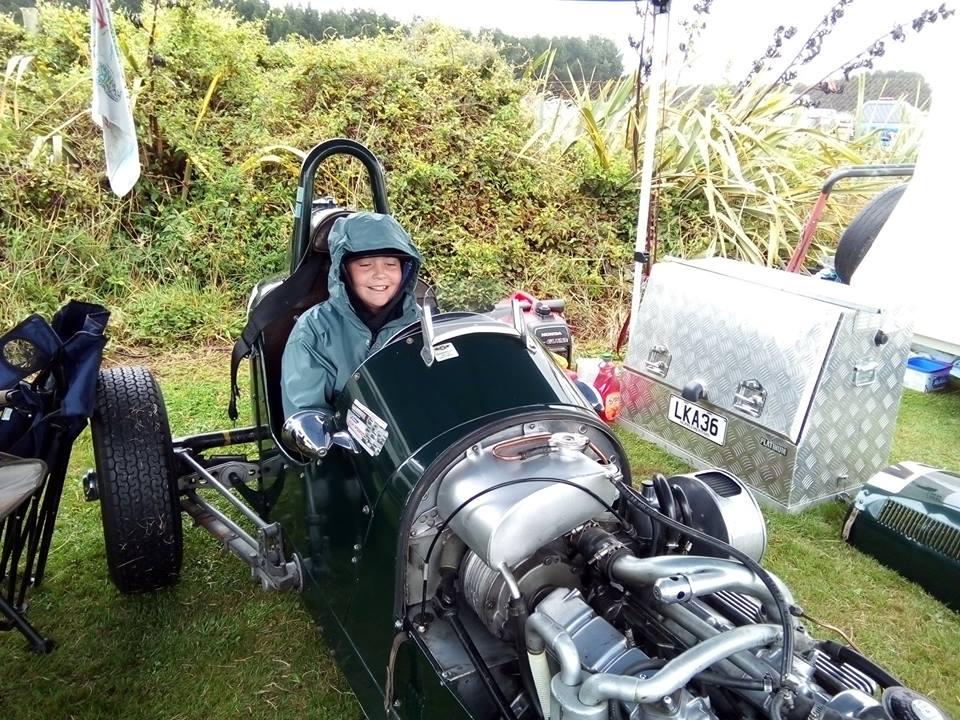 Name:  Jim Bennett Furi Cars #59 Furi 9 Impulse with grandson 2019 JB .jpg Views: 168 Size:  165.4 KB