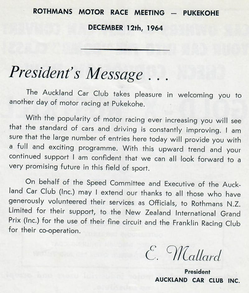 Name:  Pukekohe 1964 #28 ACC Meeting Dec 1964 Greeting E Mallard Graham Woods.jpg