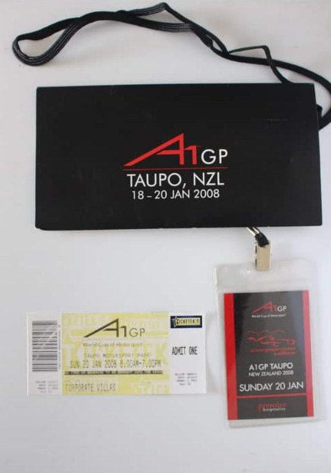 Name:  Motoring Books #111 A1 GP Taupo Jan 2008 Ticket and Pass R Dowding .jpg