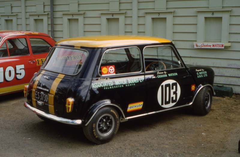 Name:  Graham Watson Mini Jim Richards Escort  Pukek Jan 69.jpg