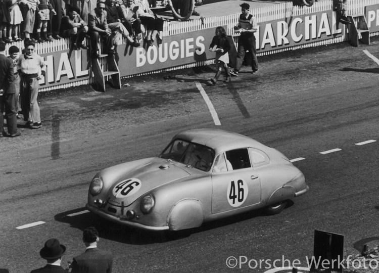 Name:  # 46 Porsche 356 SL @ Le Mans.jpg Views: 72 Size:  102.4 KB