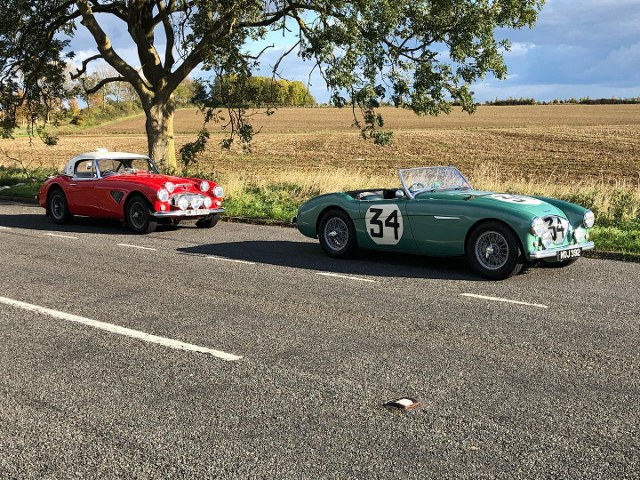 Name:  AH 100 #385 D NOJ392 1953 Special Test Car EJB Works Rally 3000 rhs Paul Woolmer (640x480) (2).jpg Views: 48 Size:  177.1 KB
