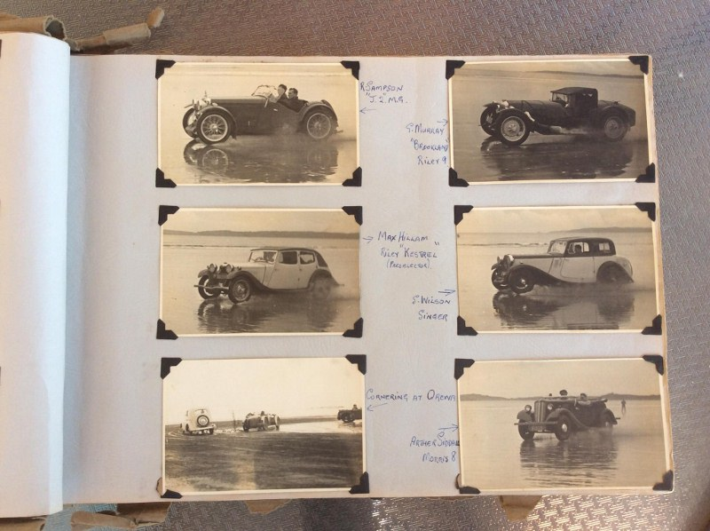 Name:  NSCC #402 Orewa Beach Racing 1946 MG Rileys Singer Morris Siddall Duncan Fox  (800x598) (2).jpg