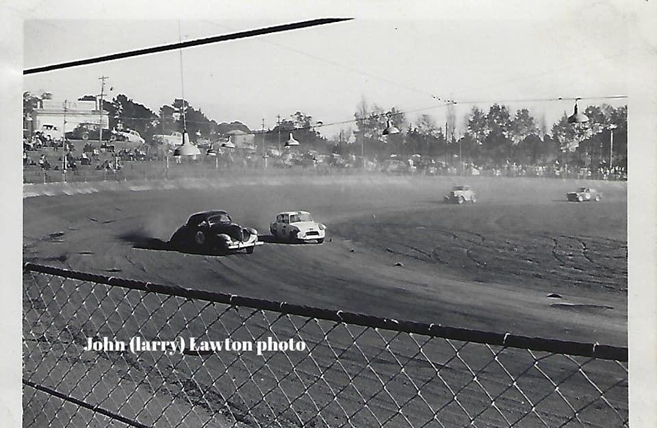 Name:  NSCC #321 1965 8 May Western Springs -Red Dawson Willys Corvette Jack Nazer Lotus Anglia Kevin M.jpg