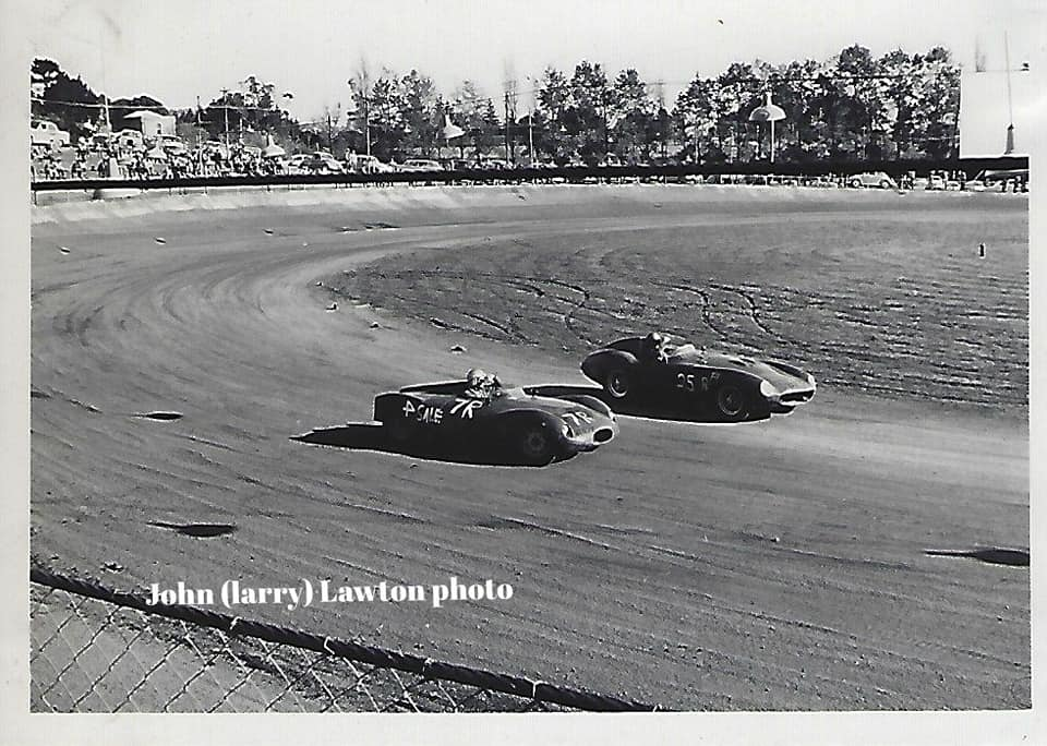 Name:  NSCC #324 1965 8 May Western Springs sunstrike on start line. Monza Corvette  Ken Smith. probabl.jpg