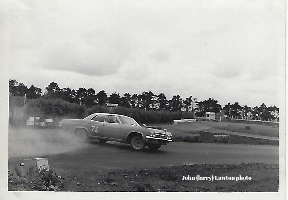 Name:  NSCC #121 NSCC club circuit 22nd Oct 1966. Jim Carney in his Impala. J L Lawton .jpg