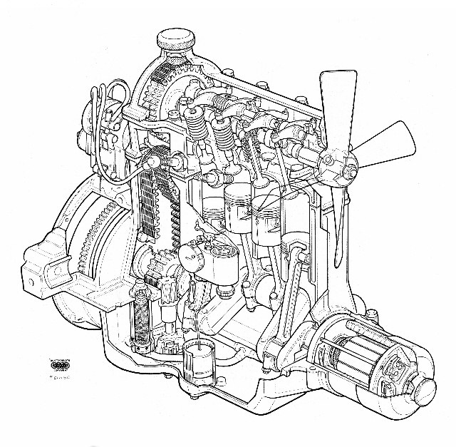 Name:  Fiat 509 #29 Special Engine Trevor Sheffield (640x627) .jpg