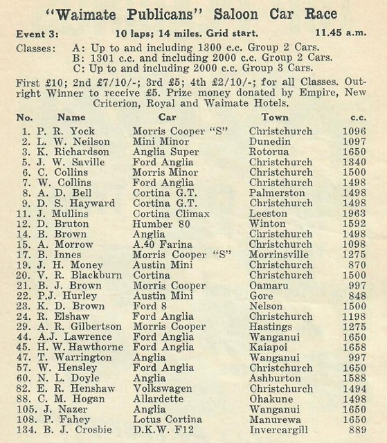 Name:  Motor Racing Waimate #23 B 1965 Saloon car entry list Graham Woods  (559x640).jpg Views: 154 Size:  162.5 KB