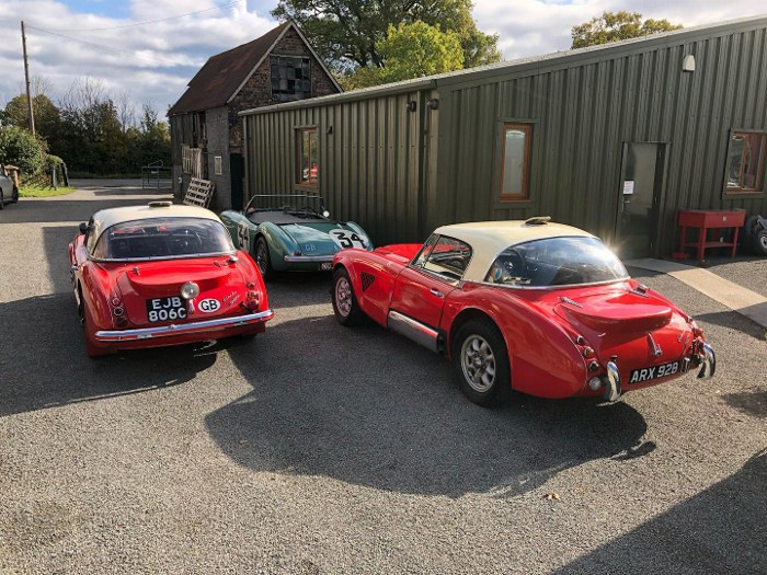 Name:  AH 3000 #383  EJB806C 1964-67 Works Rally 1965 Works ARX928 NOJ392 1953 Spl Test rear Paul Woolm.jpg Views: 47 Size:  153.1 KB