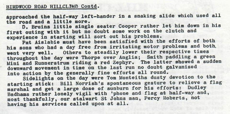 Name:  NSCC 1965 #18 Birdwood Road (Massey) hillclimb 14 Mar 1965 report P2 Club Torque Graham Woods.jpg Views: 268 Size:  113.2 KB