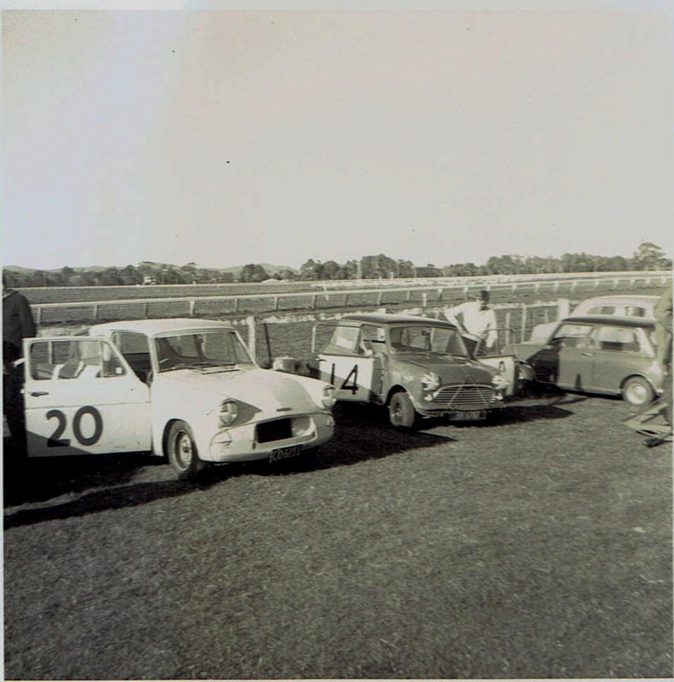 Name:  Pukekohe May 1966 #17  Anglia M Walker and Mini v2 CCI13102015 (2).jpg Views: 1744 Size:  177.4 KB