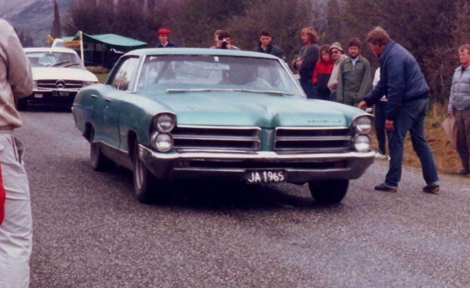 Name:  Motor Racing South Island #166 Queenstown Sprints 1986 or 1987 Pontiac Annie Swain archives .jpg