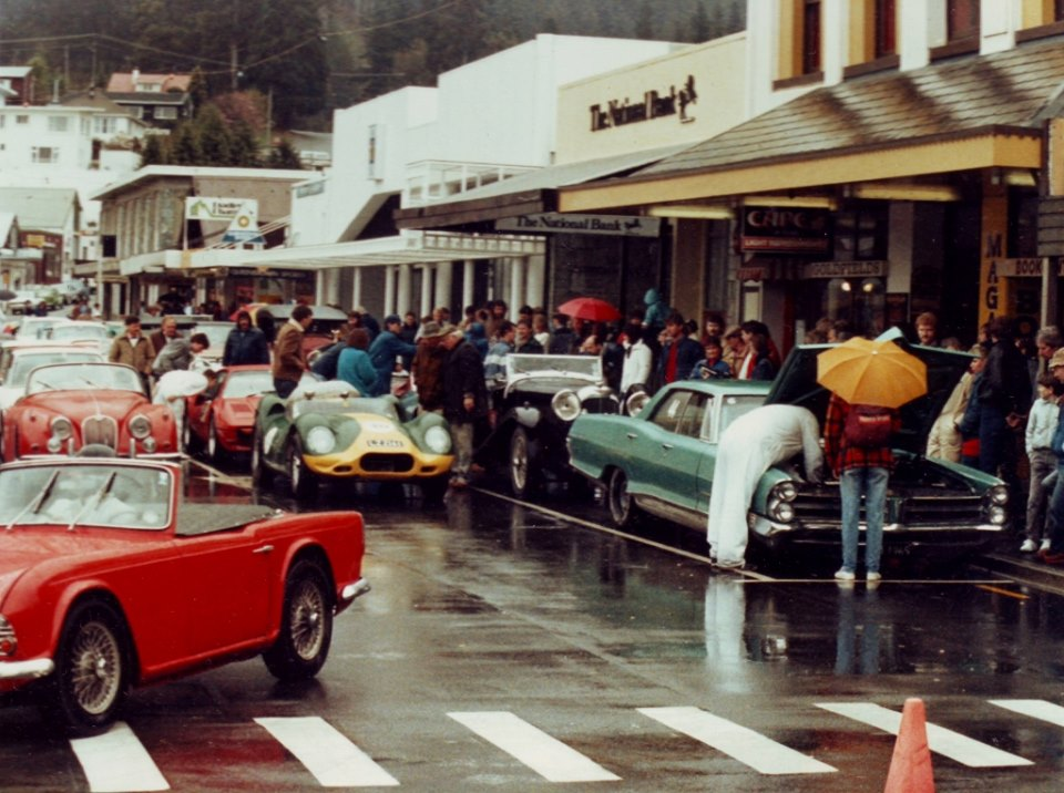 Name:  Motor Racing South Island #162 Queenstown Sprints 1986 colour photo Annie Swain archives .jpg